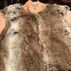 Fur sweater/jacket